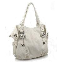 OMG Styles York Hobo Handbag (White1)