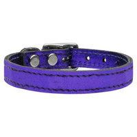 Ahi Plain Metallic Leather Metallic Purple 26