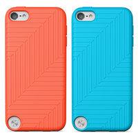Belkin Flex Case for iPod touch(r) 5G (2-Pack, Orange/Blue)