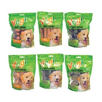 Pet Factory Vegetable Soft Chew Bones Carrot 8Oz