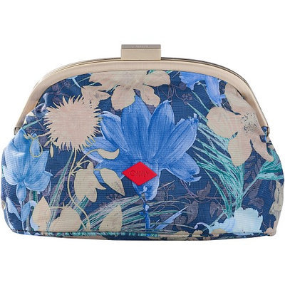 Oilily Frame Cosmetic Bag Blueberry - Oilily Ladies Cosmetic Bags
