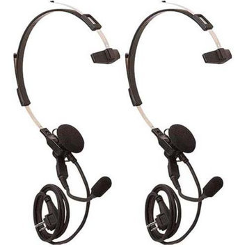 Motorola 53865 (2-Pack) Headset w/ Swivel Boom Microphone