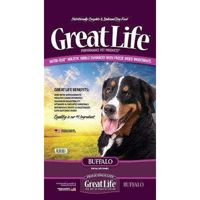 Great Life Buffalo Dry Dog Food 8 lb.