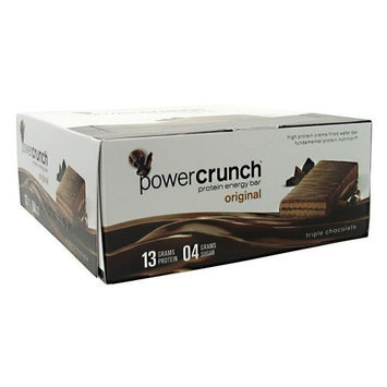 BNRG Power Crunch Bars - 12 Count TripleChoco