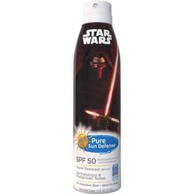 Pure Sun Defense Lucas Films Star Wars Sunscreen Spray, SPF 50, 6 fl oz