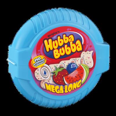 Hubba Bubba Mega Long Chewing Gum Triple Mix