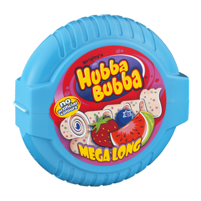 Hubba Bubba Mega Long Chewing Gum Triple Mix