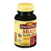 Nature Made Multi For Her 50+ Tablets - 90 CT