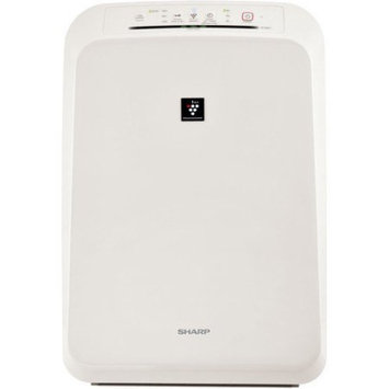 Sharp - Console Air Purifier - White