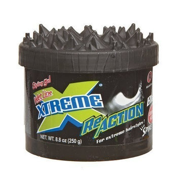 Mexilink Wet Line Xtreme Reaction Black Ultimate Hold Gel, 8.8 Ounce