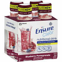 Ensure Clear Blueberry Pomegranate Nutritional Drink