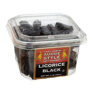 Lucky Country Licorice Tub