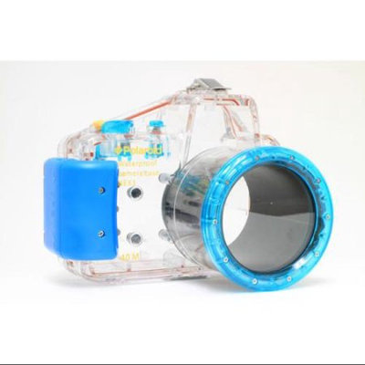 Polaroid Waterproof Underwater Housing Case For Sony Alpha NEX-C3 w 18-55mm Lens