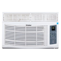 Haier America Trading Llc Energy Star 8,000 BTU 115V Window-Mounted Air Conditioner with MagnaClik Remote with Braille
