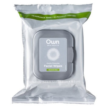 Own Renew, Facial Cleansing Wipes 30 count