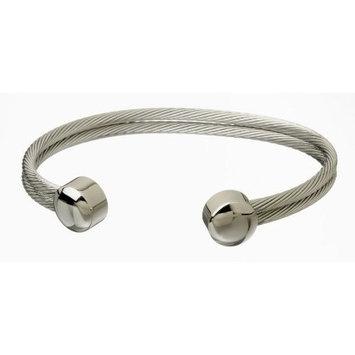 Serenity 2000 Braided Wire Bracelet (Stainless Steel)
