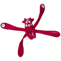Doggles MonsterPulls Dog Toy, Red