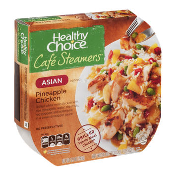 Healthy Choice Cafe Steamers Asian Inspired Pineapple Chicken