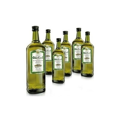 Fratelli Carli Olio Carli Extra Virgin Olive Oil. Six 3/4 Liter (25 oz.) bottles.