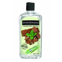 Intimate Organics Chocolate Mint Flavored Lube, 4 Ounce
