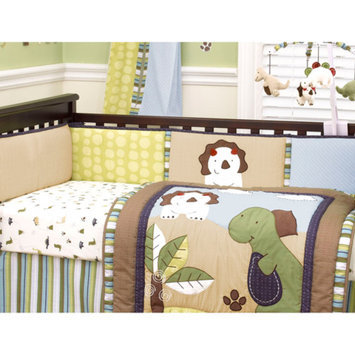 CoCaLo CoCo & Company Chomp N Stomp Crib Bumper