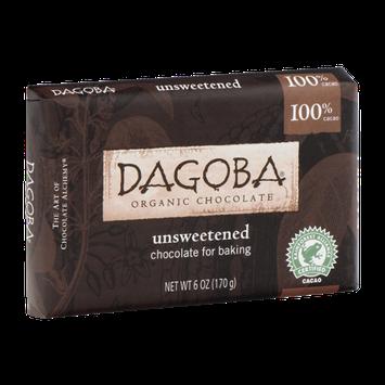 Dagoba Organic Chocolate Unsweetened
