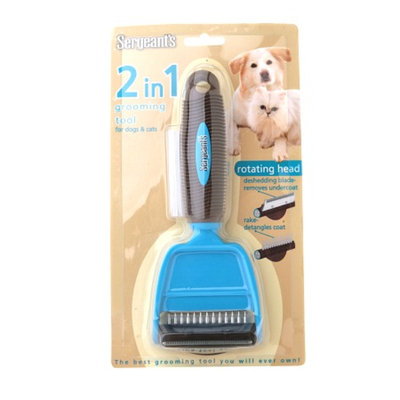 Sergeant's Dog & Cat 2in1 Grooming Tool