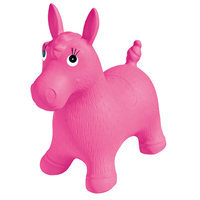 Ball Bounce & Sport Pony Inflatable Animal Hopper - Pink