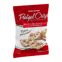 Snack Factory Pretzel Crisps White Chocolate & Peppermint