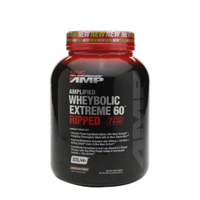 Gnc GNC Pro Performance AMP Amplified Wheybolic Extreme 60 Ripped - Chocolate Fudge