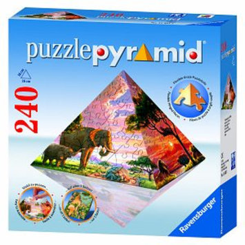 Ravensburger Puzzle Pyramid - Impressions of Africa: 240 Pcs Ages 11+, 1 ea