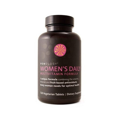 Pomology Pomegranate Pomology/Pomegranate Women's Daily Multivitamin - 120 Caps, 4 pack