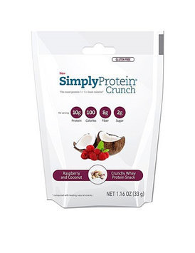 The Simply Bar Protein Crunch Raspberry & Coconut 1.16 oz