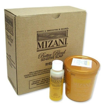 Butter Blend Sensitive Scalp Rhelaxer Kit Mizani sensitive scalp relaxer 4app