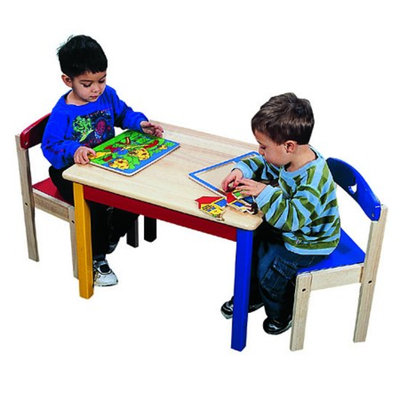 Guidecraft Moon & Stars - Table & Chair Set