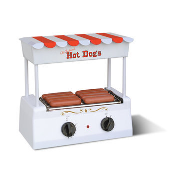 Nostalgia Electrics Hot Dog Maker with Griddle
