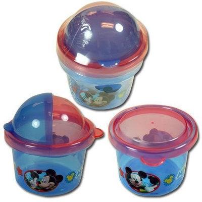 Disney Mickey Mouse 2pk Snack Storage Containers Zak Paks