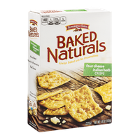 Pepperidge Farm Baked Naturals Crisps Four Cheese Italian Herb