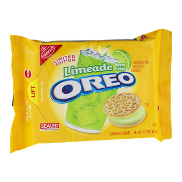 Nabisco Oreo Sandwich Cookies Limeade
