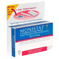Monistat 7 Vaginal Antifungal 7-Day Treatment Combination Pack