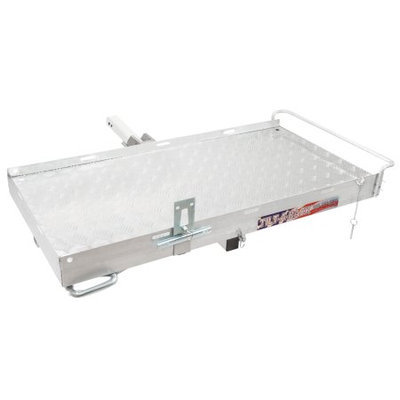 Rage Powersports Hitch-Mounted Aluminum Tilting Scooter Carrier Rack 500 lb Capacity