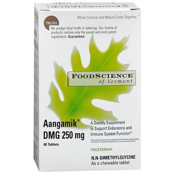 FoodScience of Vermont Aangamik DMG 250 mg Chewable Tablets