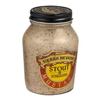 Sierra Nevada Stout & Stoneground Mustard