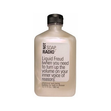 Not Soap, Radio Liquid Freud (when you need to turn up the volume on your inner voice of reason) bath/shower gel 12.17 oz.