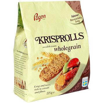 Krisprolls Wholegrain Swedish Toast, 7.9 oz (Pack of 6)