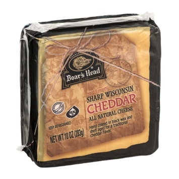 Boar's Head Sharp Wisconsin Cheddar Cheese