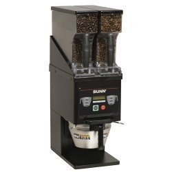 BUNN MHG - BLK Multi-Hopper Coffee Grinder, Black