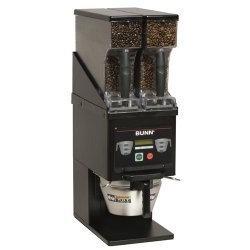 BUNN MHG - BLK Multi-Hopper Coffee Grinder, Black