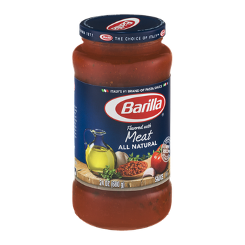 Barilla Pasta Sauce All Natural Meat Flavored