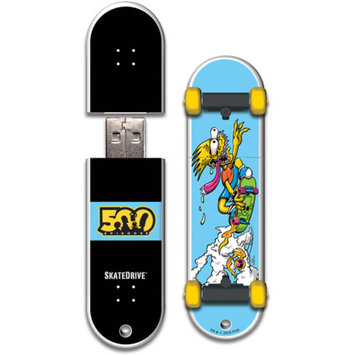 Action Sports Drives Santa Cruz 16GB Bart Slasher SkateDrive USB 2.0 Flash Drive